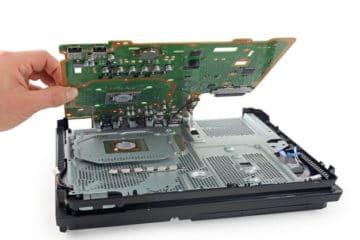 Czyszczenie konsoli PlayStation 4